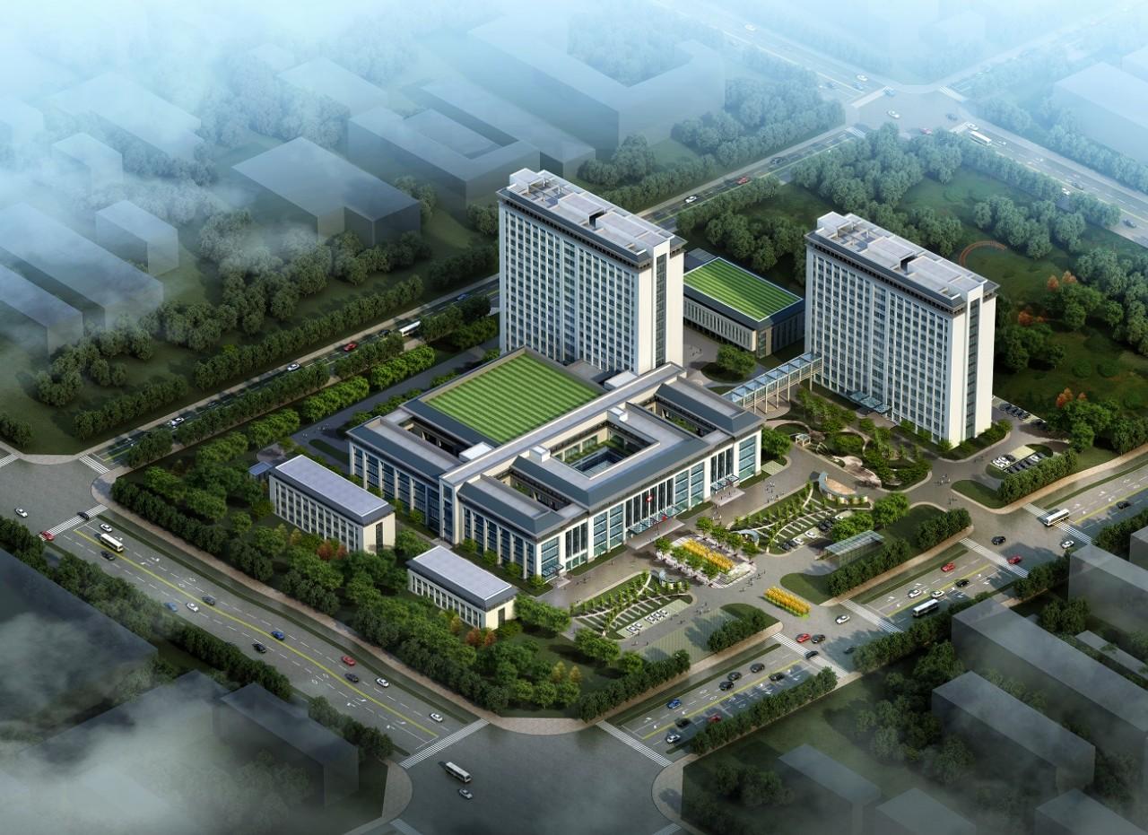 蒙城县中医院康复中心大楼工程施工总承包